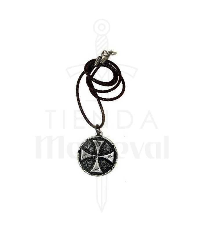 Templar cross pendant 33 cms medieval shop templar cross pendant 33 cms aloadofball Image collections