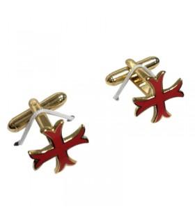 Twins Templar cross paté