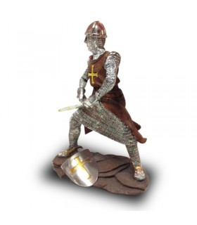 Figure warrior Templar (36 cms.)