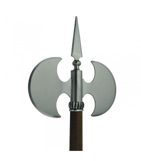rustic smooth double ax blade, 61 cms.