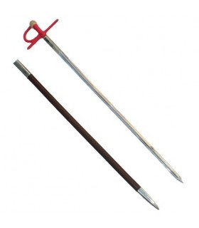 rapier professional bullfighter, 4 veins