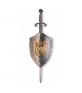 Rustic shield warrior