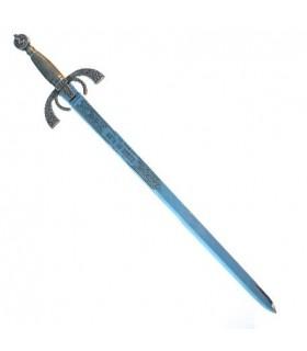 Duque de Alba sword, silver