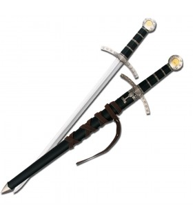 Children medieval sword with sheath