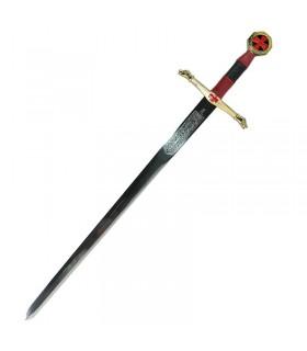 Sky Knights cadet sword. 76.5 cms.