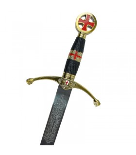 Sword of the Crusaders. Cadet size. 75 cms.
