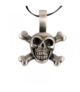 Gothic skull pendant