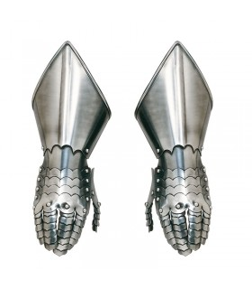 Pair of gauntlets smooth (NOT functional)