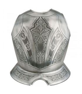 Armor breastplate engraved