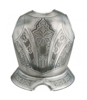 Armor breastplate engraved