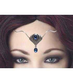 Tiara with glass beads