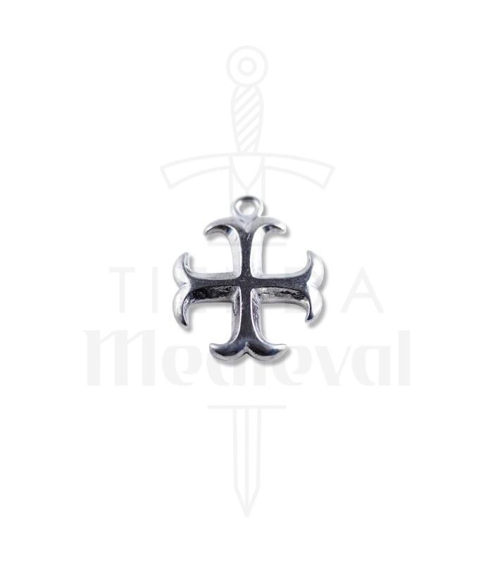 Templar cross pendant medieval shop templar cross pendant aloadofball Images