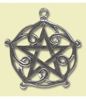 Celtic pendant pentacle Brisingamen