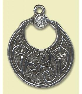Celtic pendant Charm Boudica