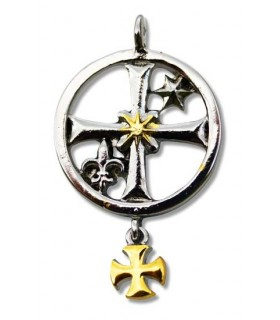 Templar Seal Pendant Rochefort