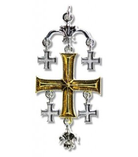 Pendant Templar Cross of Jerusalem