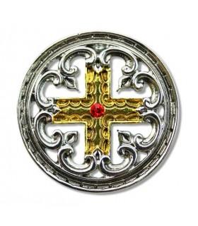 Templar Cross Pendant Engrailed