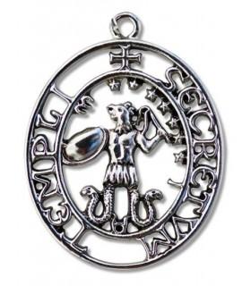 Pendant Templar Seal of Abraxas