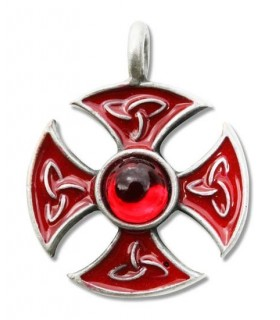 Templar Cross Pendant consecration