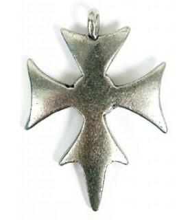Templar cross pendant 3