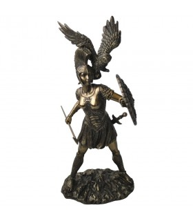 Figure of the Goddess Athena, 30 cms.
