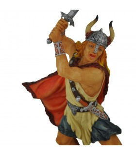 Viking warrior with sword