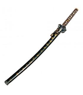 Katana Dragon black-gold sheath