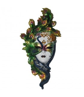 Venetian mask feather colors