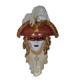 tricorn Venetian mask