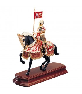 Decorated horse V Charles Knight
