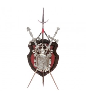 Coat of Arms 2 Swords + pica (72x36 cm)