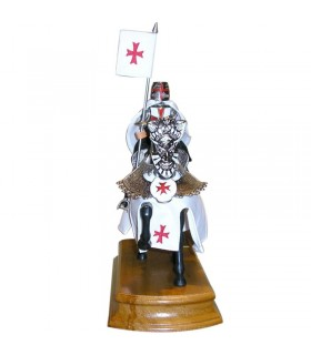 Horse with Knight Templar