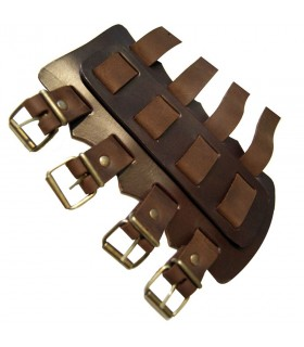 Vikings thick leather bracelets