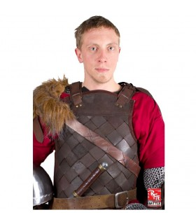 Viking armor in leather