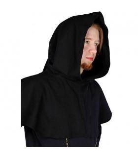 brown hooded