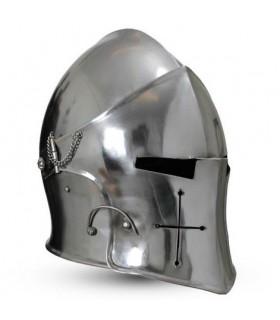 medieval Bacinete with visor