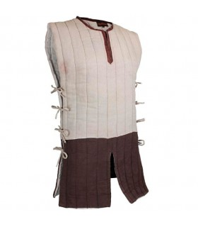 padded sleeveless gambeson