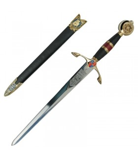 Black Prince dagger decorated