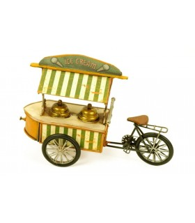 Miniature ice cream tricycle