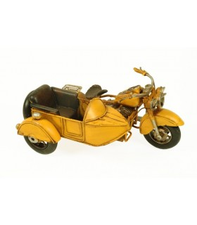 Miniature yellow sidecar