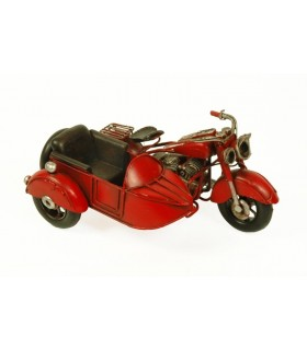 Miniature red sidecar