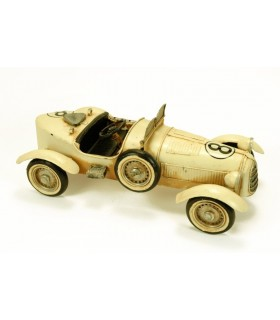 Miniature convertible car racing