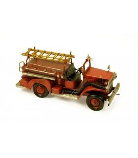 Miniature car fire
