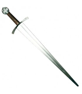 Leaved sword, a hand