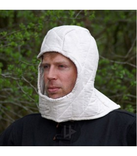 Natural padded hood