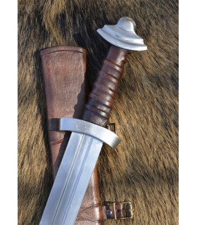 Viking sword with scabbard, functional