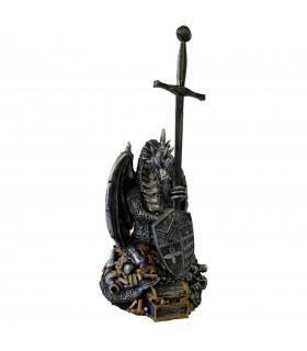 Excalibur sword with dragon