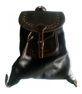 Medieval leather bag