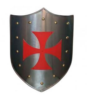 Red Cross Templar shield