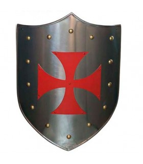 Red Cross Templar shield